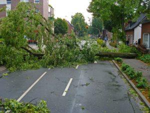 Damage from Tornado Season US in 2020
