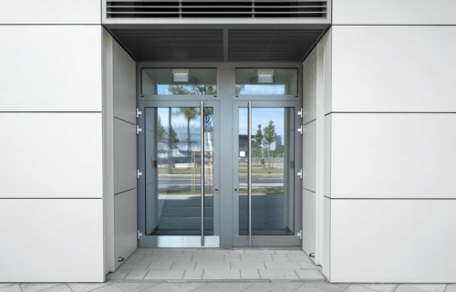 commercial security doors for storefront