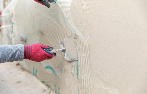 photo of a fiberglass wall for ballistic threats