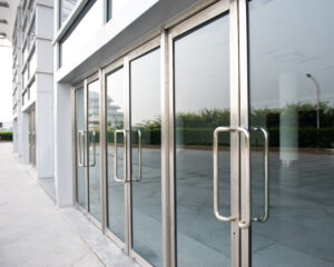 workplace safety security glass as used in bullet resistant doors